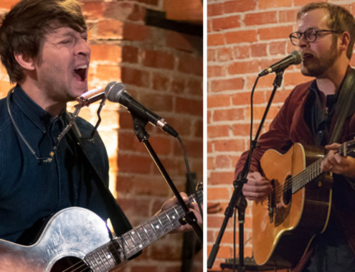 Photos: Chris Koza and Will Hutchinson at Crescent Moon 11.7.18