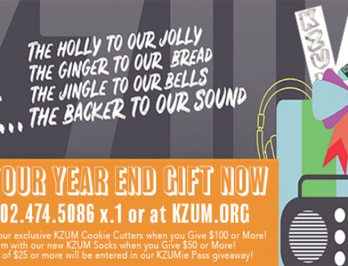 Make Your Year-end gift to KZUM