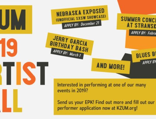 Performer Application for 2019 KZUM Events Open Now!