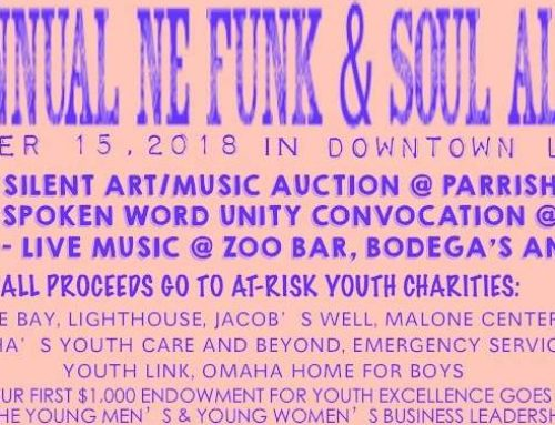 Saturday's Nebraska Funk & Soul Alliance Benefit Adds Art Auction, Spoken Word to Live Music