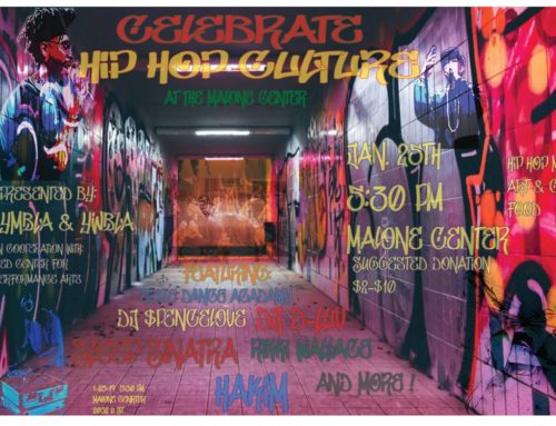 """""""Celebrate Hip-Hop Culture"""" bringing artists, dancers, open mic and more to Malone Center on Friday"""