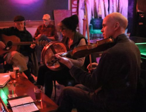 Photos: Traditional Irish Session at The Hot Mess 1.10.19