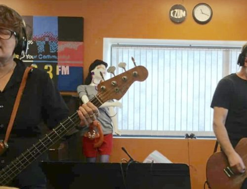 Audio: Domestica live on The Slacker Morning Show 2.7.19