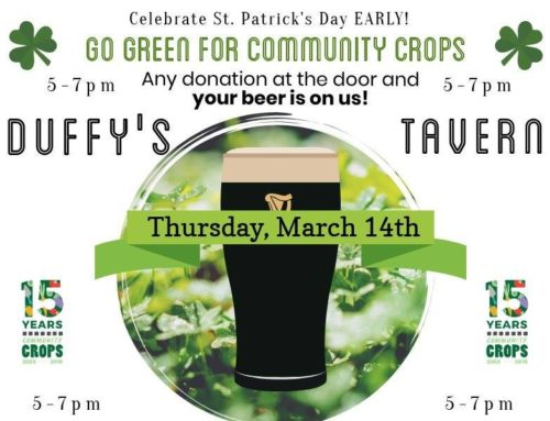 St. Patrick's Day comes early at 'Go Green for Crops' benefit Thursday at Duffy's