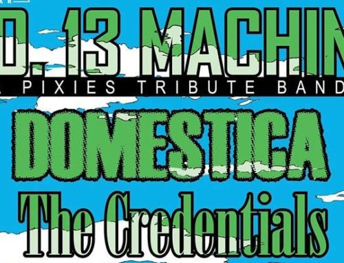 Pixies Tribute Band, No. 13 Machine, to make their debut at 1867 Bar