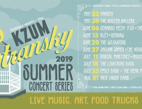 KZUM Summer Concert Series at Stransky Park runs May 23-Aug. 1