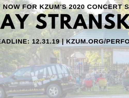 KZUM' 2020 Stransky Park Concert Series Performer Application
