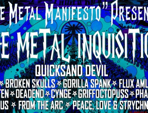KZUM Benefit, Presented by The Metal Manifesto: The Metal Inquisition to Feature a Full Day of Metal