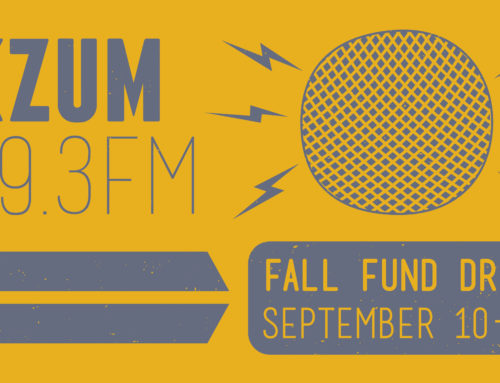 KZUM's Fall Fund Drive underway! Donate now to close the gap on $300,000 in September
