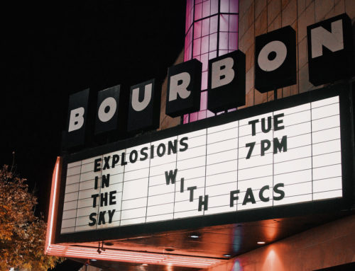 Photos: Explosions in the Sky | Bourbon Theatre 10.22.19