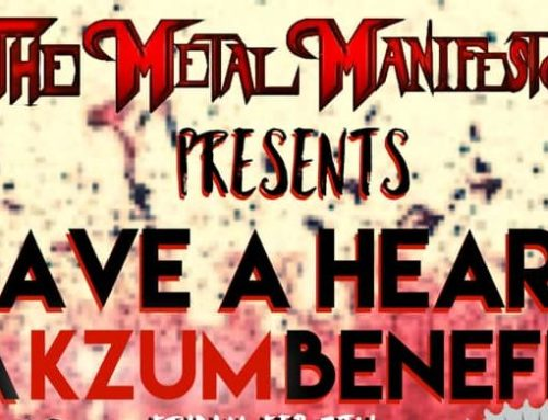 "Host of Metal Manifesto organizes new, two-day, KZUM Benefit ""Have A Heart"""